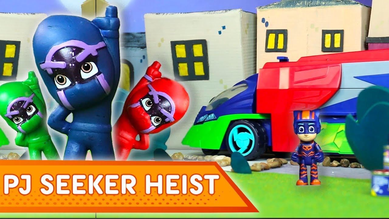 PJ Masks Creations ???? PJ Seeker Heist! | NEW | Play with PJ Masks