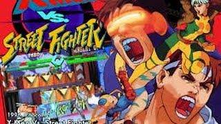 X-Men vs. Street Fighter (Arcade) - All Endings