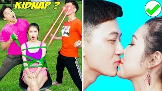23 BEST PRANKS AND FUNNY TRICKS   Funny Pranks! Prank Wars! Funny Fail & Clumsy Moments by T-Fun