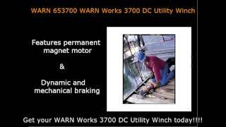 WARN Works 3700 DC Utility Winch WARN 653700