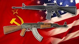 AK-47 vs M16 ¿Cuál es la Mejor Arma y Por qué?