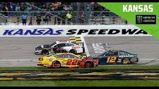 Full Race Replay: Monster Energy NASCAR Cup Series Hollywood Casino 400 Race at Kansas Speedway