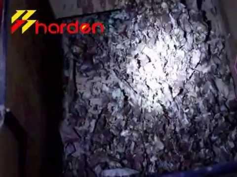 Marine Food waste shredder shredder