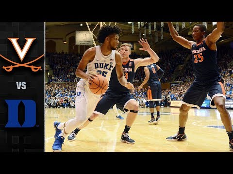 Virginia vs. Duke Basketball Highlights (2017-18)