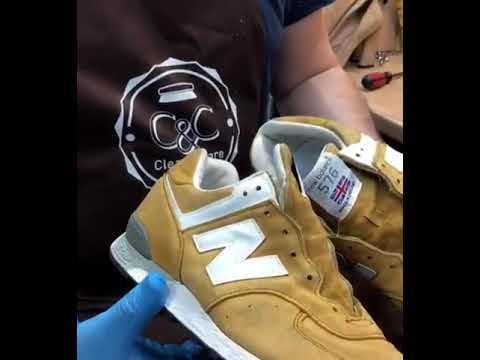 Химчистка и реставрация кроссовок