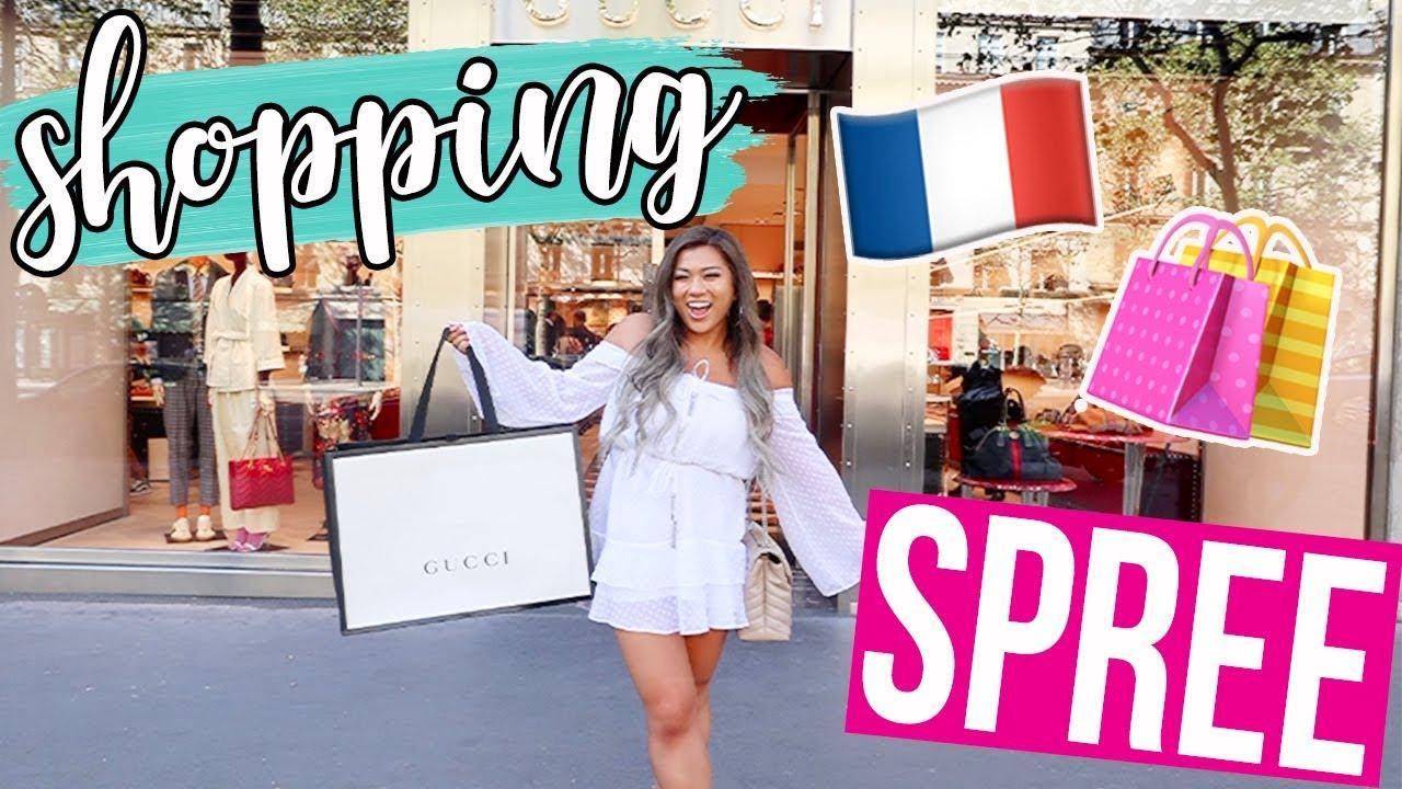 ad79724567e GUCCI SHOPPING SPREE IN PARIS!! - YouTube