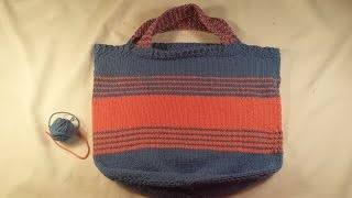 Knitted Market Bag ~ Part One
