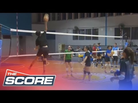 The Score: Tryout for the women's national volleyball team