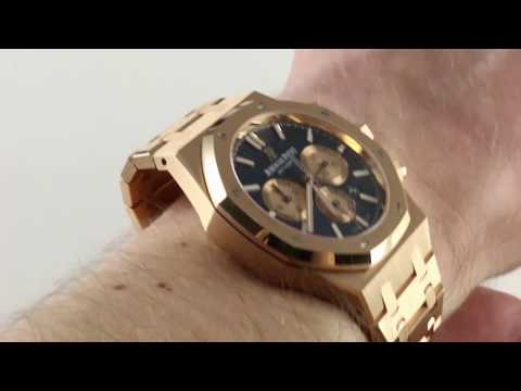 Pre-Owned Audemars Piguet Royal Oak Chronograph 26331OR.OO.01 Luxury Watch Review