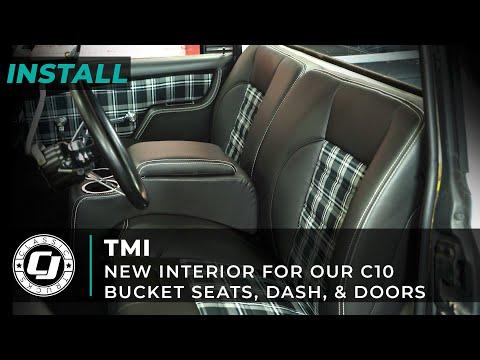 1967-1972 Chevy C10   Full TMI Interior Upgrade
