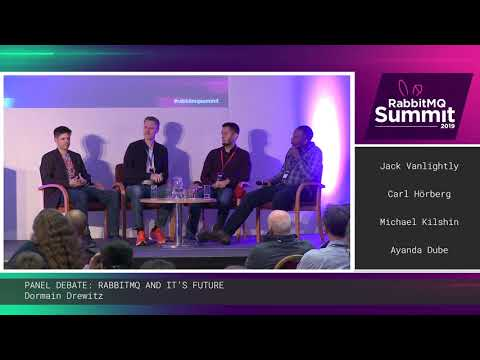 [X] Panel debate: RabbitMQ and its future