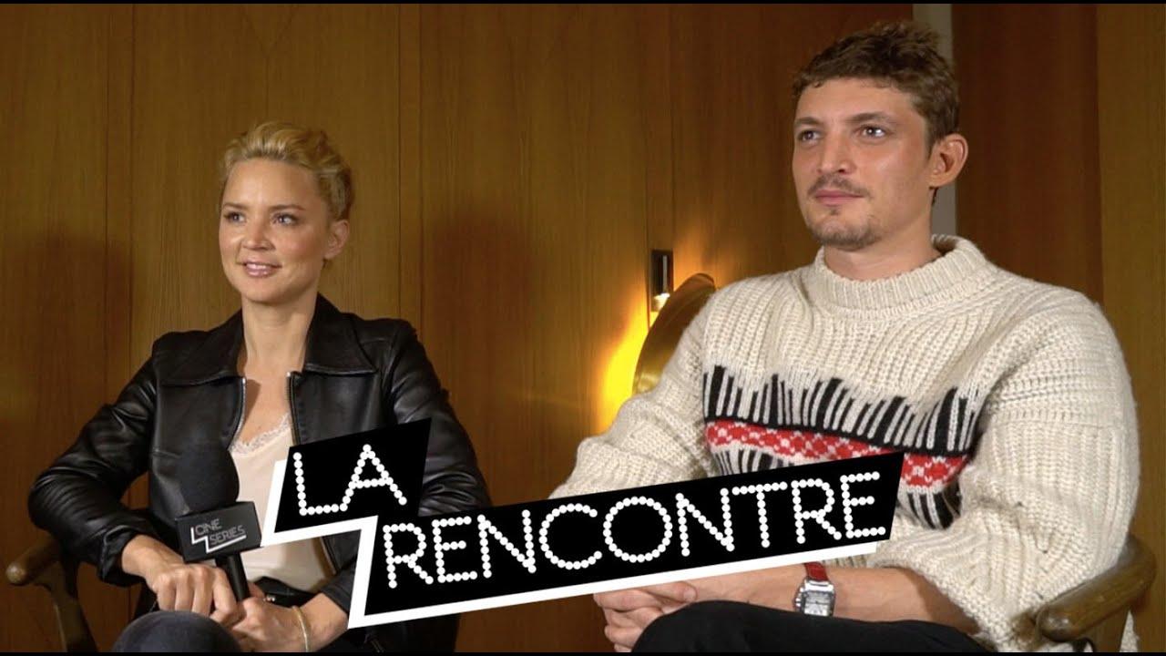 Virginie Efira Niels Schneider Interview Un Amour Impossible Youtube