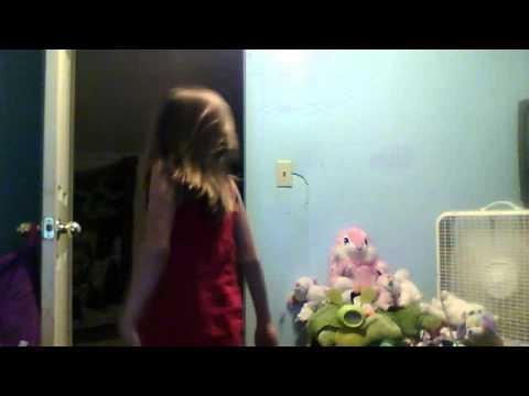 ( year old girl dancing