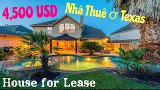 Nhà Thuê $4,500 Ở Texas Đẹp Như Thế Nào? $4,500 House For Lease In Texas
