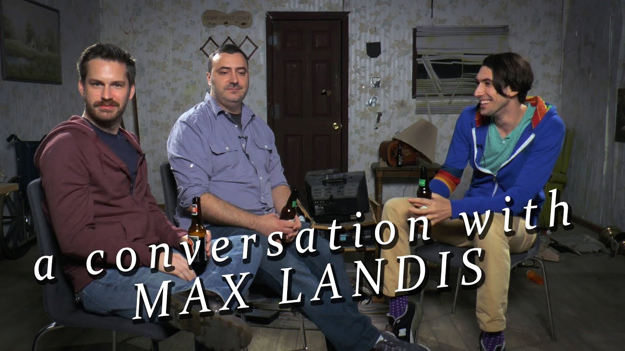 A Conversation with Max Landis   YouTube