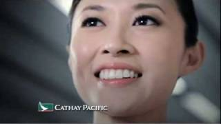 Cathay Pacific - People. They make an airline. TVC - Grace Hui, Flight Attendant