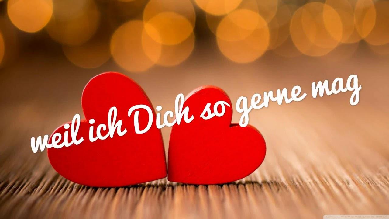 ❤ICH LIEBE DICH MEIN SCHATZ ❤ Jeden Tag Sagen, Nicht Nur Am Valentinstag,  Valentine S Day❤