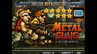 1996 [60fps] Metal Slug 2Players Nomiss ALL