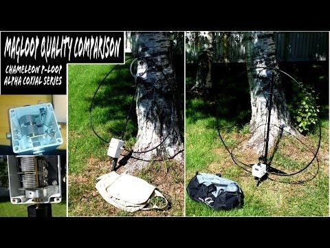 Chameleon P-Loop vs Alpha Loop Ham Radio