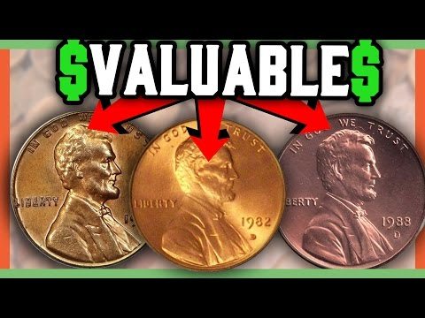 RARE PENNIES WORTH MONEY - RARE COINS TO LOOK FOR!!
