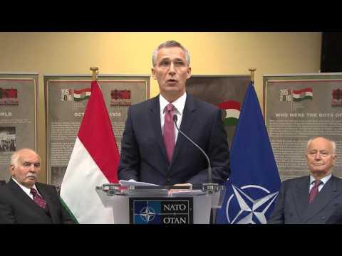 NATO Secretary General at 1956 Hungarian Revolution Commemoration, 24 OCT 2016