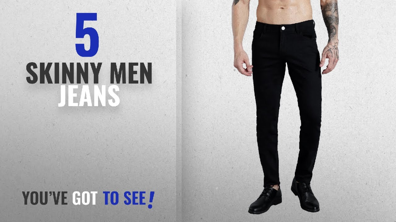 7a7a7d1e9901 Top 10 Skinny Men Jeans [ Winter 2018 ]: ZLZ Slim Fit Jeans For Men ...