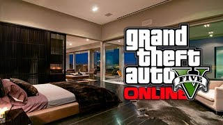 GTA 5 Online: NEW 1.13 High Life Apartment Details - Interiors & Reorganize Garages! (GTA V)