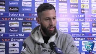 Luca Bittante, Levan Mchedlidze e Manuel Pucciarelli dopo Empoli-Udinese