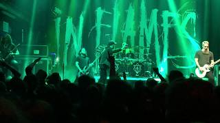 In Flames Monsters In The Ballroom Live 2-20-19 I, The Mask Tour Mercury Ballroom Louisville KY