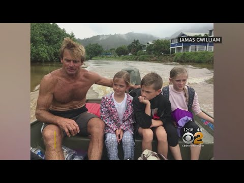 Surfer Legend Laird Hamilton Rescues Family Amid Hawaii Flooding