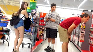 Farting at Walmart with The Pooter - Best Fart Toy Ever