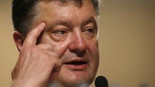 ПОРОШЕНКО БРЕДИТ? Президент Украины увидел в Донбассе 200 тысяч российских солдат! Украина, сегодн