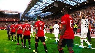 Manchester United Vs Tottenham 2-1 Premier League 2019 Gameplay