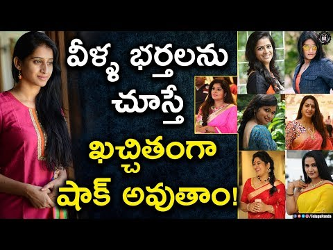 Tollywood Character Artists Husbands Profiles Will Shock You