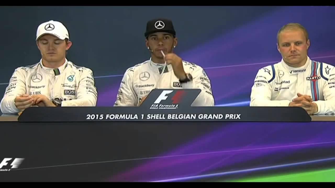 F1 2015 Belgium GP Post Qualifying Press Conference