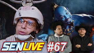 Aladdin Gets a Sequel + Rick Moranis is BACK - SEN LIVE #67
