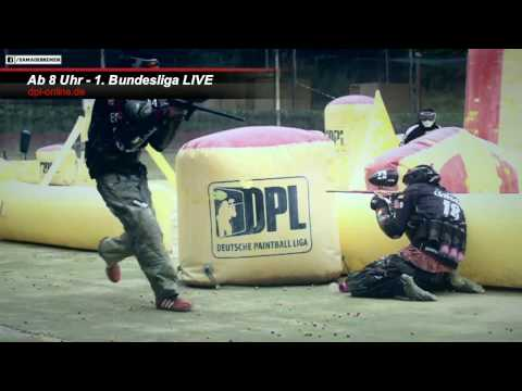 Deutsche Paintball Liga - livestream 2016 - 1. Bundesliga  5. Spieltag