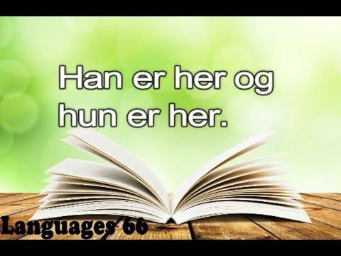 Learning Norwegian Urdu to Norsk Lesson#01
