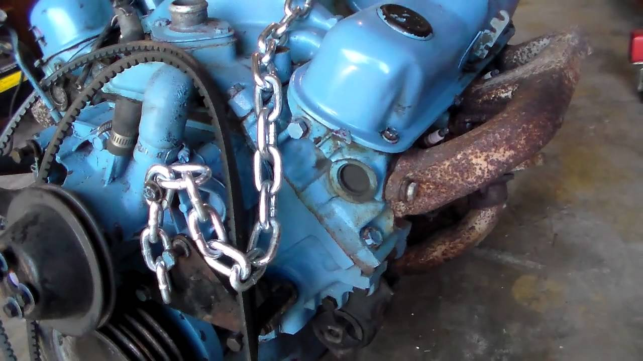 small resolution of dodge 318 timing cover gasket replacement part 1