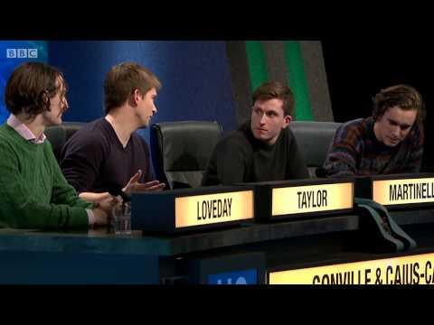 University Challenge S44E04 St Annes - Oxford vs Gonville & Caius - Cambridge