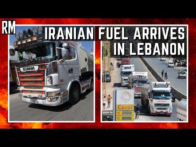 Iranian Fuel Arrives In Lebanon