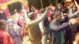 Pahari Band Baaje Dhol Shehnai Dance at Bangota Village || Desi Dance || H.P. Mandi