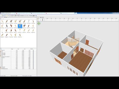 Phần mềm thiết kế - Sweet Home 3D - Part 3: Hướng dẫn vẽ thêm tầng (cấp độ).