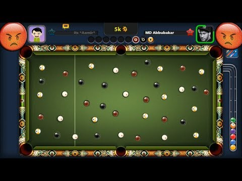 The MOST ANNOYING 8 Ball Pool Match HACK You'll Ever See (ball movement hack)