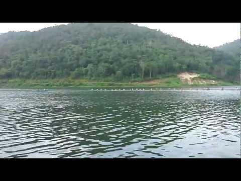 แพวิมานลอยน้ำ ล่องแพกาญจนบุรี