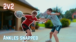 CRAZY 2v2 BASKETBALL GAME | NEA Blitzball