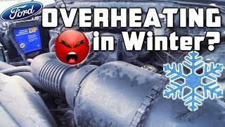 EXO's Truck Overheating in Freezing Weather? Ford F150 Pickup COLD START Sputtering & Bogging