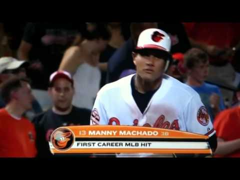 Manny Machado's Top 10 Plays as a Baltimore Oriole