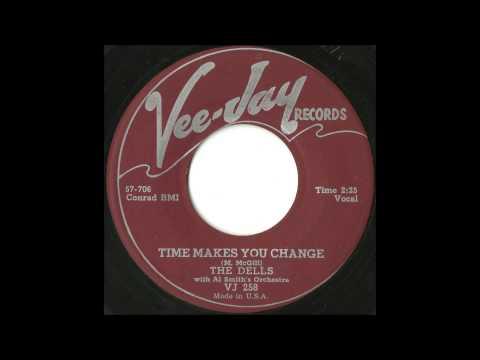 Dells - Time Makes You Change - GREAT Soulful Doo Wop Rocker