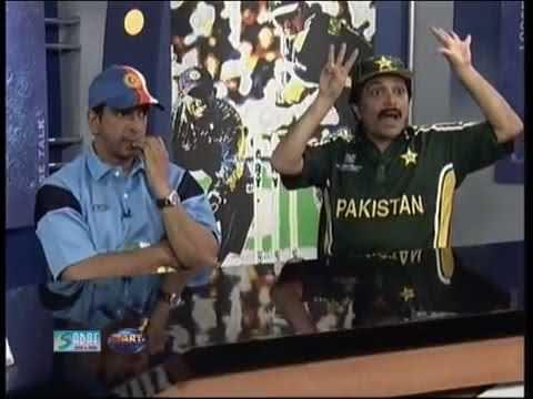 Pak Vs India - Moin Akhtar As Javed Miandad - Loose Talk